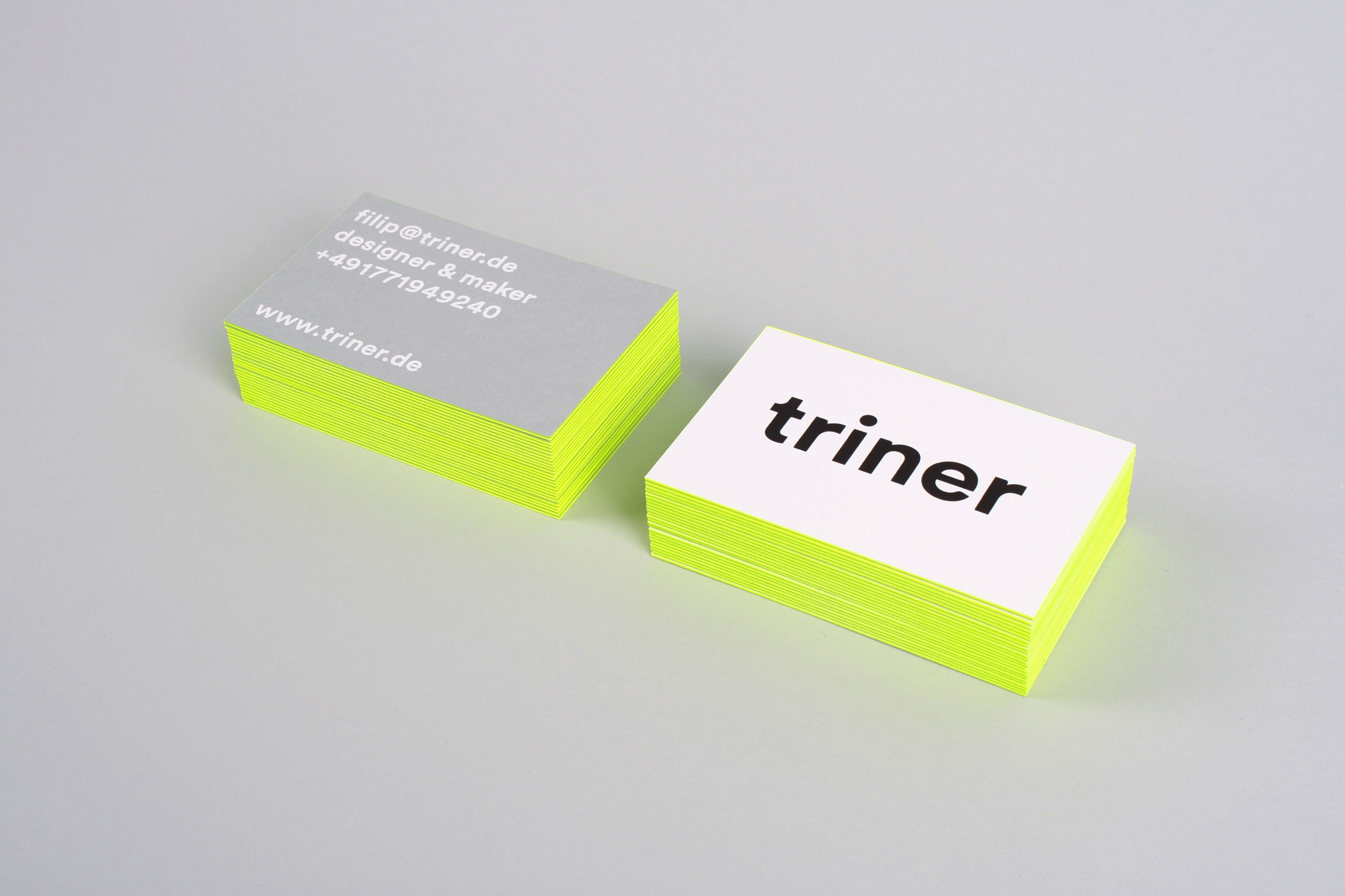 Filip trinertriner business cards filip triner the business cards made big impact and have been featured on several design blogs colourmoves Images