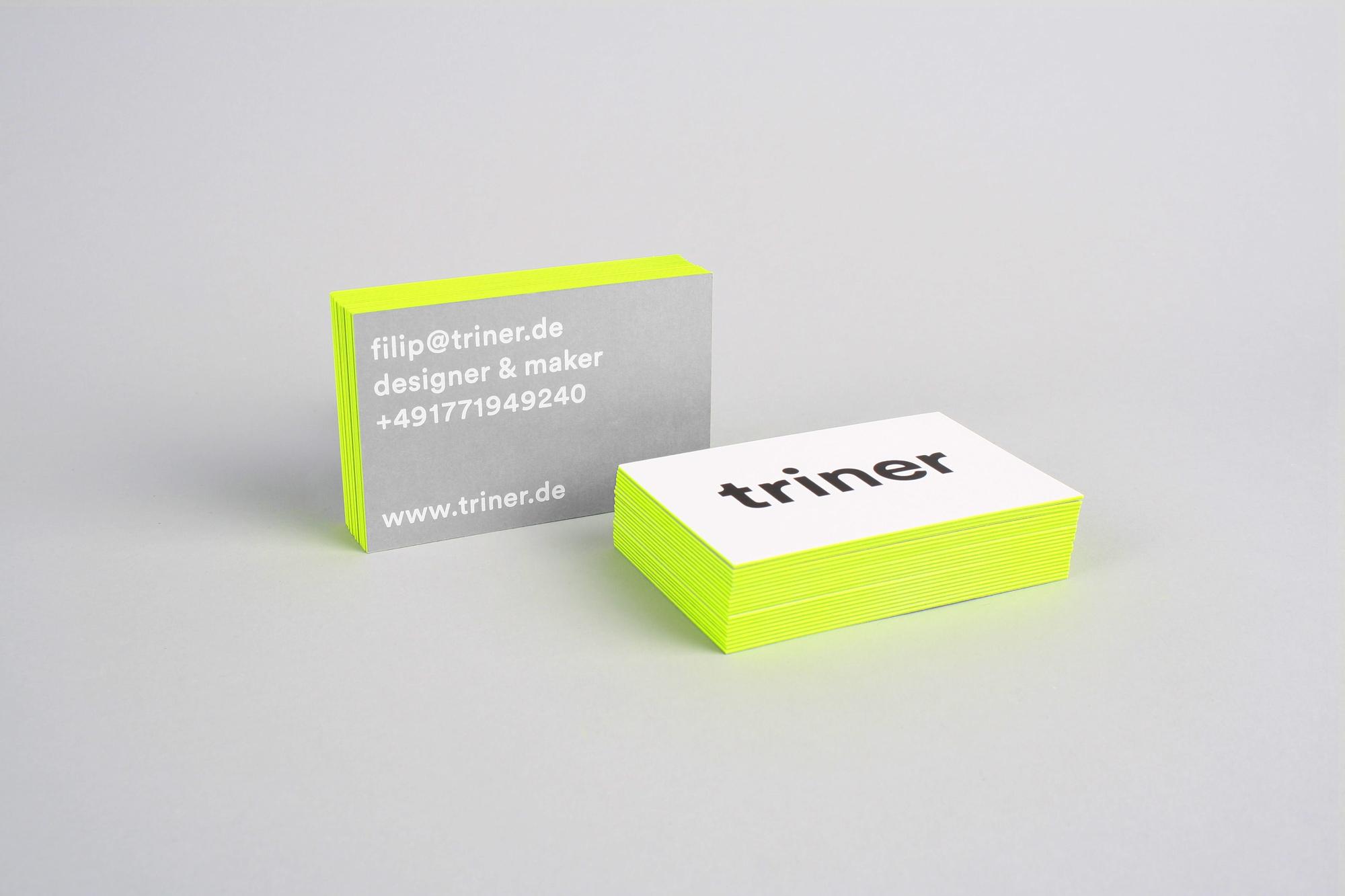 Filip TrinerTriner business cards - Filip Triner