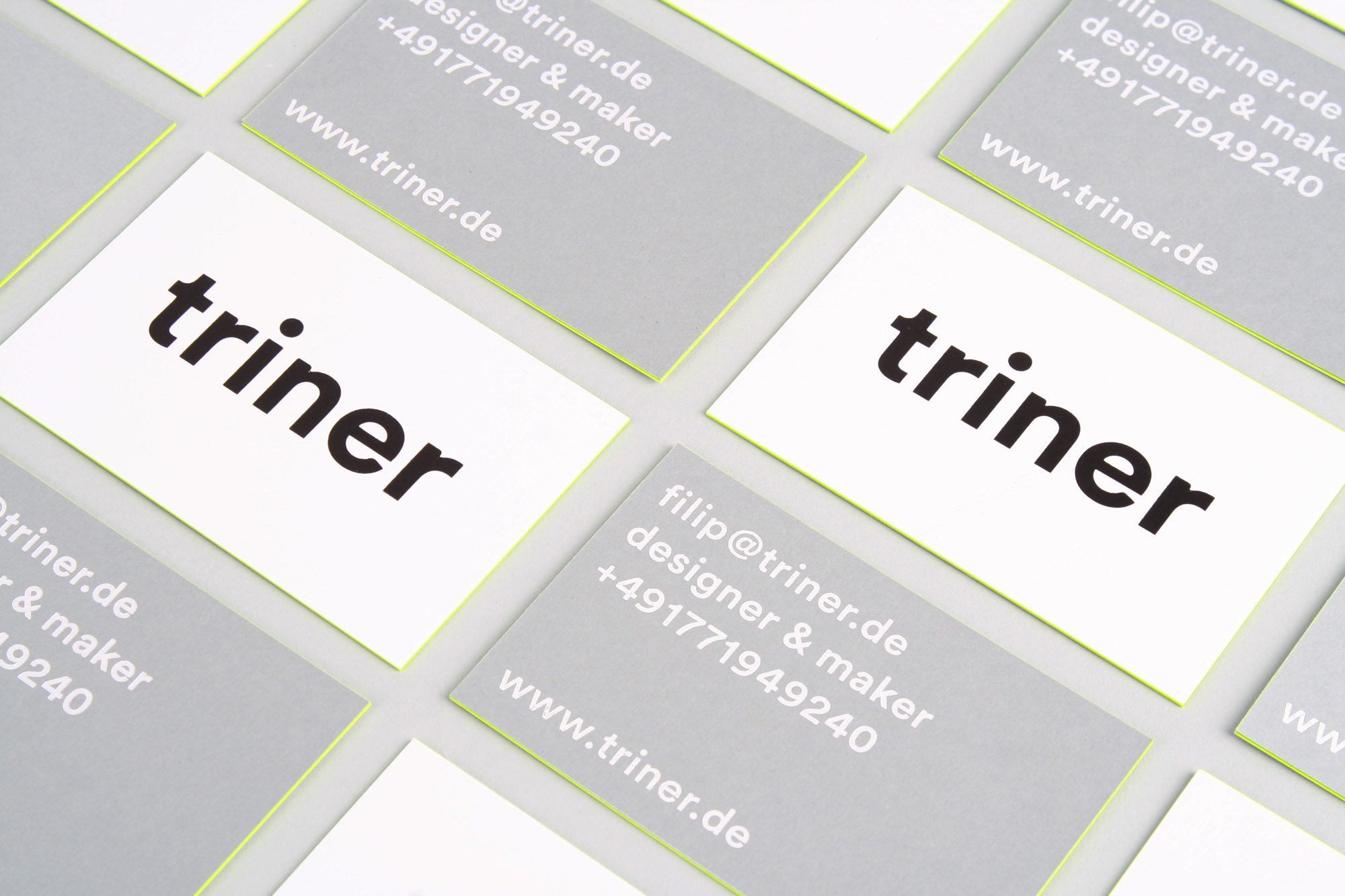 Triner business cards